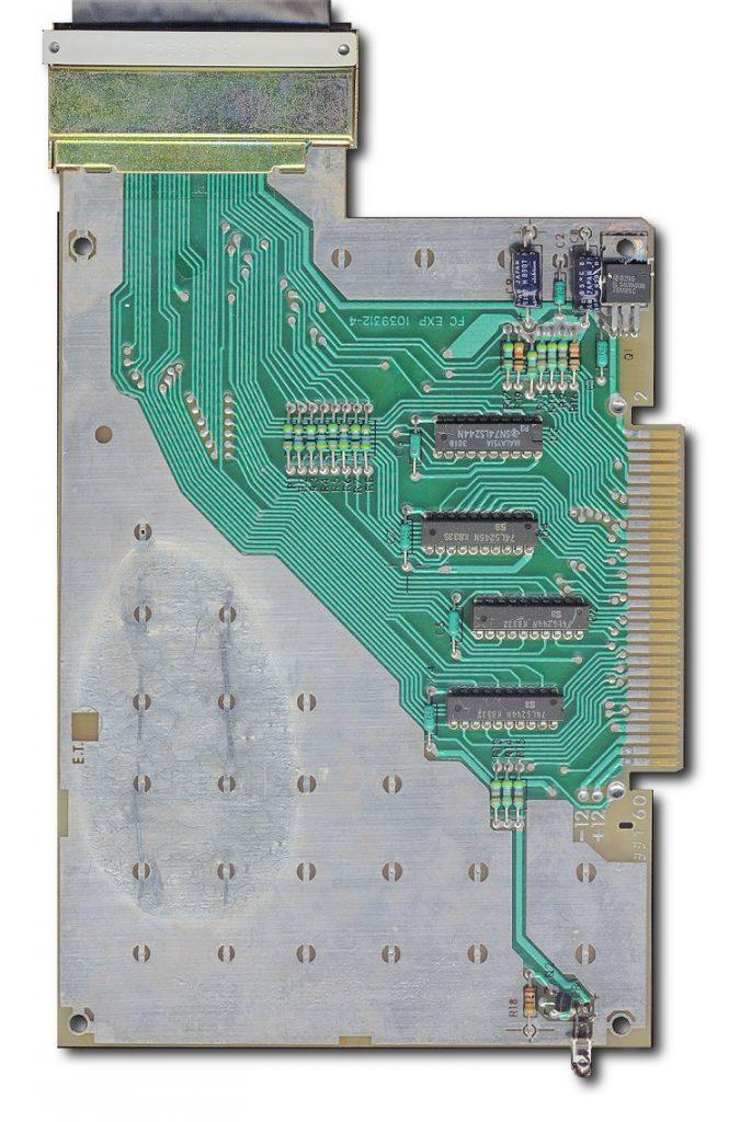 TI flex cable interface pcboard